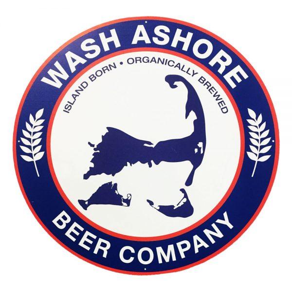 Tacker Sign - Wash Ashore Beer Company