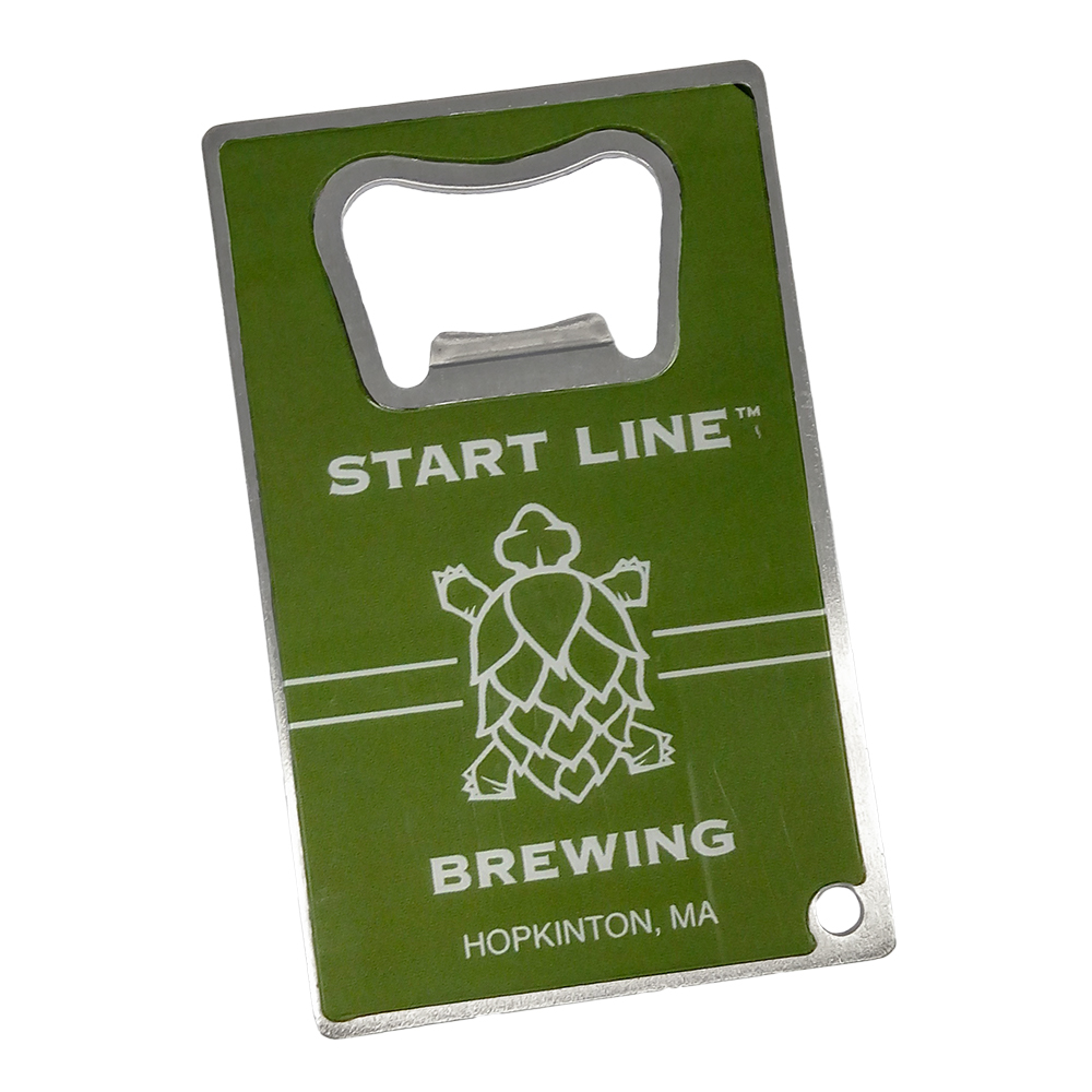 Credit Card Shape Bottle Opener – 4CP | Tap Room Tackers